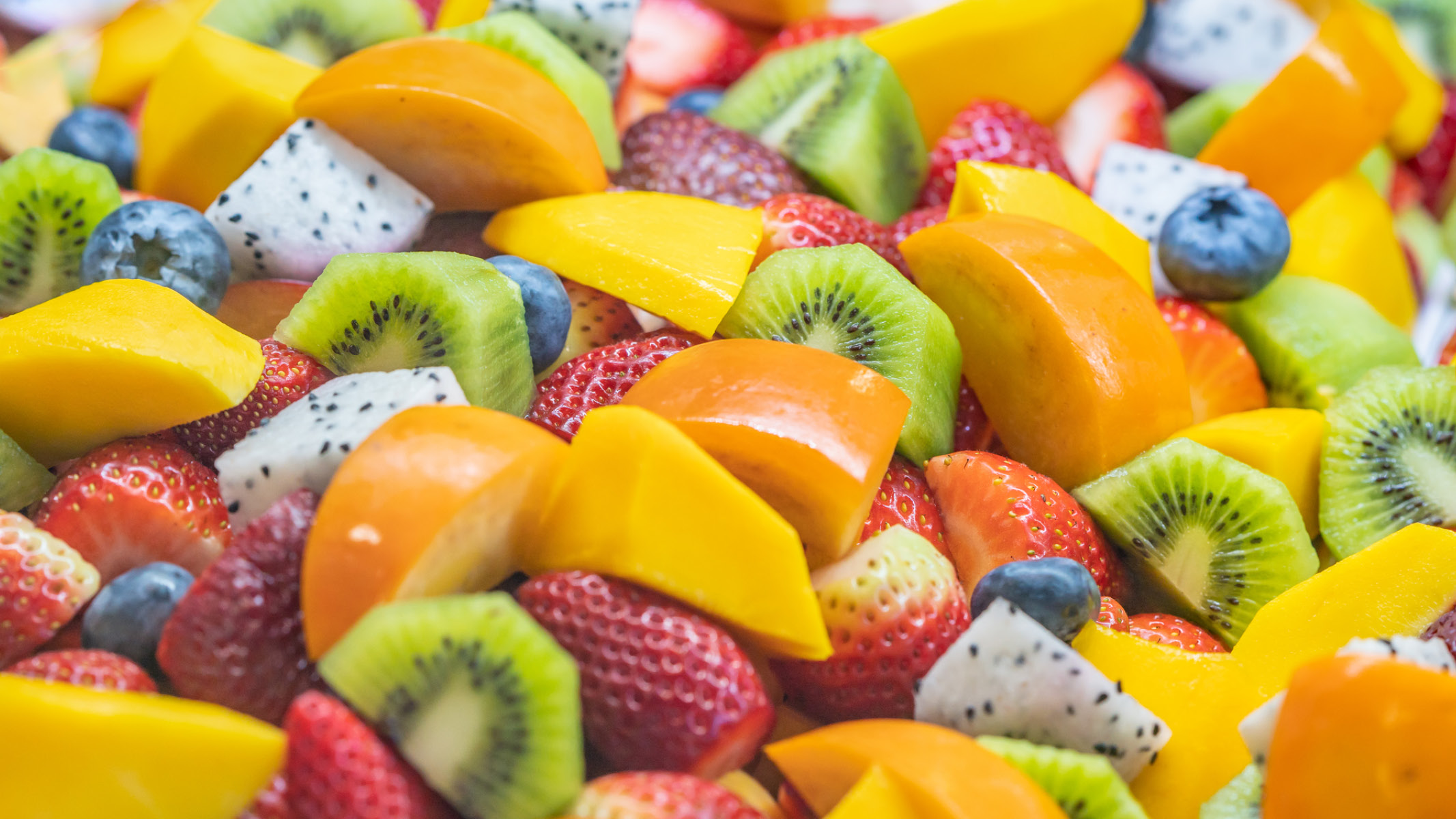 Colorful diced fruit - Sanford fit
