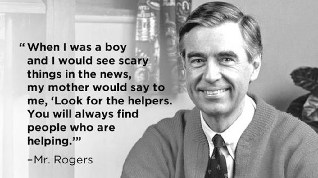 Look For The Helpers And Thank Them Sanford Fit