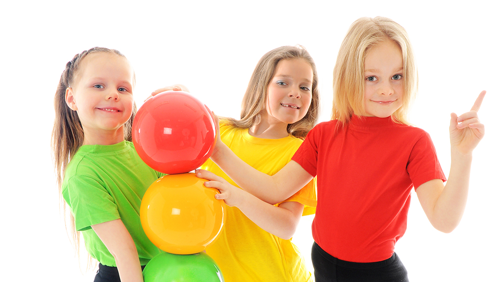 Children moving for active game - Sanford fit
